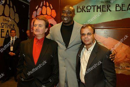Dave Thomas, Michael Clark Duncan & Rick Moranis