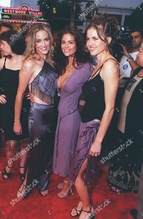 20000717 Lori Heuring, Susan ward, and Laurie Fortier at the Warner Bros' premiere of The In Crowd. Photo®Eric Charbonneau/BEI     A006920-11