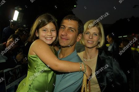 Mike Tollin, wife Robbie and daughter Georgia