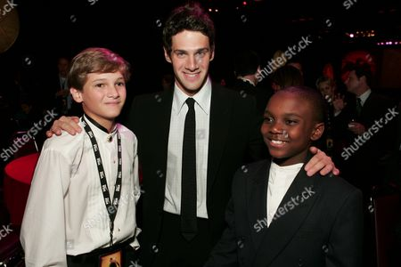 Hunter Gomez, Justin Bartha and Yves Michel-Beneche