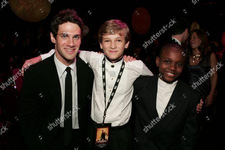 Justin Bartha, Hunter Gomez and Yves Michel-Beneche