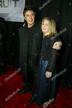 Al Pacino and daughter Julie Pacino