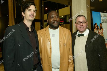 Glenn Williamson, Gary Hardwick and James Schamus