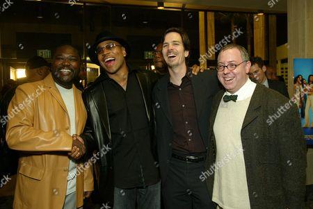 Gary Hardwick, LL Cool J,  Glenn Williamson and James Schamus