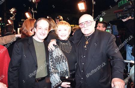 David Paymer, Joan Benedict and Rod Steiger
