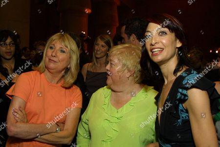 Terri Garr, Kathy Kinney and Illeana Douglas