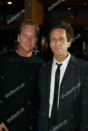 Kiefer Sutherland and Brian Grazer