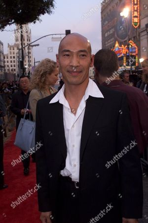 """Roger Yuan at the world premiere of  Touchtone Pictures' """"Shanghai Noon"""" at the Chinese Theatre in Hollywood, CA. Photo®Eric Charbonneau/BEI"""