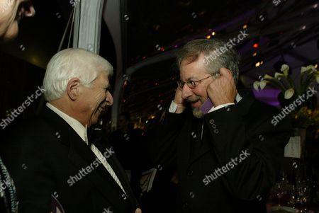 Elmer Bernstein and Steven Spielberg