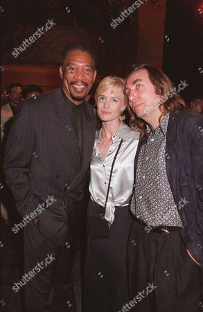 Stock Photo of Morgan Freeman, Robin Wright Penn, Pen Densham