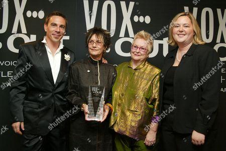 Stock Picture of Joe Landry, Gai Gherardi, Barbara McReynolds and Paige Fender