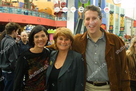 Angela Mancuso  Rafaella De Laurentiis and Doug Herzog