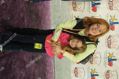 Mary McDonough & daughter Sydney