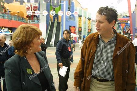 Executive Producer Rafaella De Laurentiis and Doug Herzog