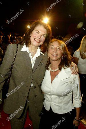 Editorial photo of Lynda and Sherry Lansing