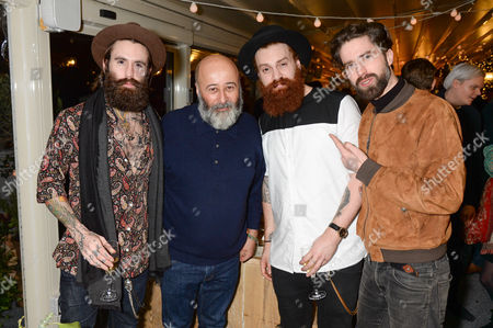 Ricki Hall, Richard Young, Tymoor Gharbo and Jack Guinness