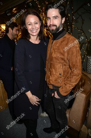 Stock Picture of Caroline Rush and Jack Guinness