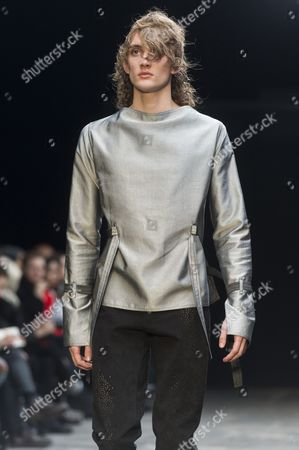 Editorial photo of Lee Roach fashion show, London Collections Men, London, Britain - 10 Jan 2015
