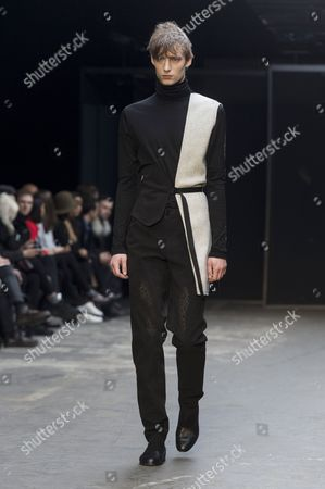 Editorial picture of Lee Roach fashion show, London Collections Men, London, Britain - 10 Jan 2015