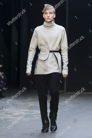 Editorial image of Lee Roach fashion show, London Collections Men, London, Britain - 10 Jan 2015