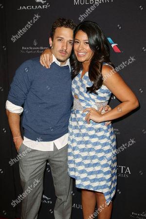 Henri Esteve and Gina Rodriguez