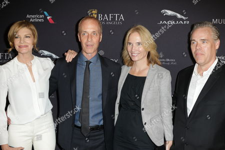 Rene Russo, Dan Gilroy, Tony Gilroy and wife