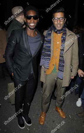 Tinie Tempah and Nihal Arthanayake (aka DJ Nihal)