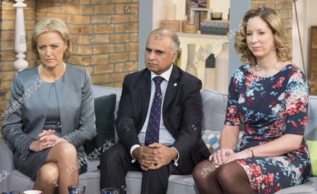 Editorial image of 'This Morning' TV Programme, London, Britain. - 12 Jan 2015