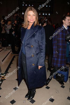 Editorial photo of Burberry Prorsum fashion show, London Collections: Men, Autumn Winter 2015, London, Britain - 12 Jan 2015