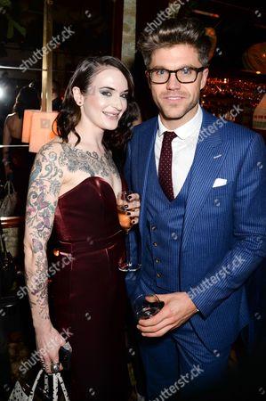 Stock Photo of Jessica Moloney and Darren Kennedy