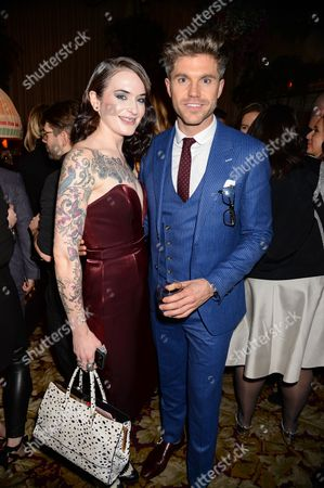 Editorial image of Tom Ford Fragrance Launch Party, London Collections: Men, Autumn Winter 2015, London, Britain - 12 Jan 2015