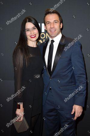 Alessandro Del Piero and Sonia Amoruso