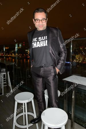 Editorial photo of Christian Lacroix and Supa Model Management London Collections: Men event, London, Britain - 12 Jan 2015