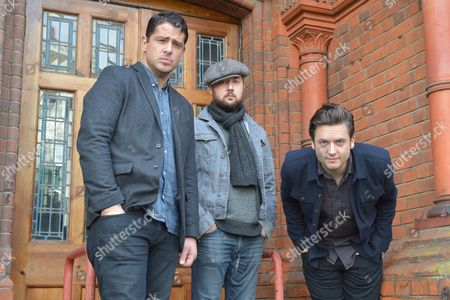 Augustines in London - Billy McCarthy, Rob Allen and Eric Sanderson