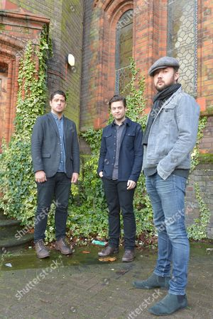Augustines in London - Billy McCarthy, Eric Sanderson and Rob Allen