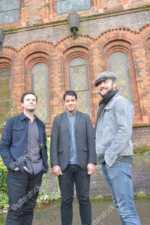Augustines in London - Eric Sanderson, Billy McCarthy and Rob Allen