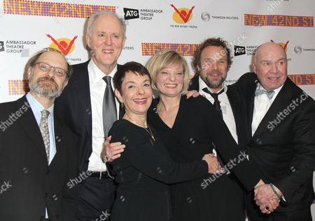 David Hyde Pierce, John Lithgow, Cora Cahan, Martha Plimpton, Norbert Leo Butz, Jack O'Brien