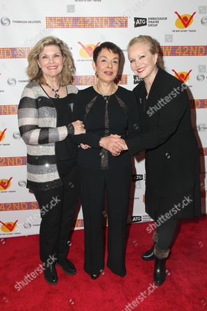Debra Monk, Cora Cahan, Susan Stroman