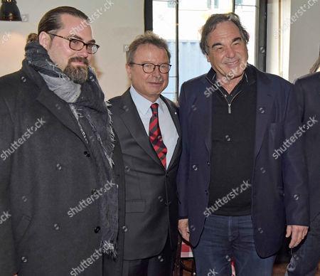 Editorial photo of FFF Lunch, Munich, Germany - 12 Jan 2015