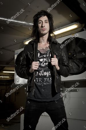 Asking Alexandria -  Cameron Liddell, London, Britain