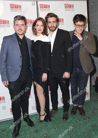 Michael Longhurst, Ruth Wilson, Jake Gyllenhaal and Nick Payne