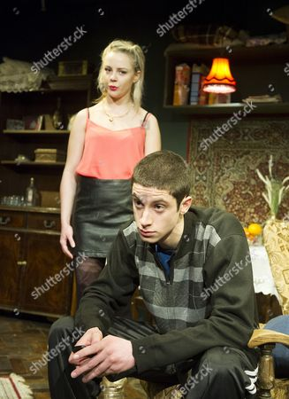Editorial picture of 'Donkey Heart' Play by Moses Raine performed at the Trafalgar Studio, London, Britain - 8 Jan 2015