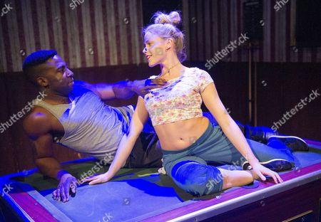 Kirsty Oswald as Desdemona, Mark Ebulue as Othello