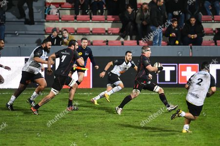 Editorial photo of Stade Toulousain vs La Rochelle, French Top 14 Rugby match, Toulouse, France  - 10 Jan 2015