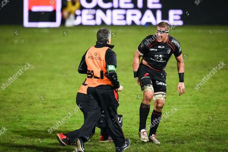 Editorial image of Stade Toulousain vs La Rochelle, French Top 14 Rugby match, Toulouse, France  - 10 Jan 2015