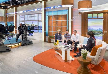 Editorial photo of 'Good Morning Britain' TV Programme, London, Britain. - 14 Jan 2015