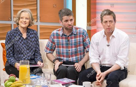 Stock Picture of Sheila Hollins, Nigel Hollins and Hugh Grant