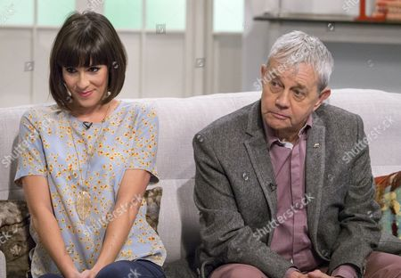 Verity Rushworth and Frazer Hines