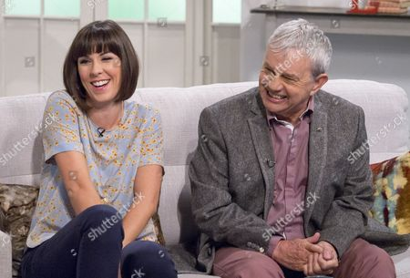 Stock Picture of Verity Rushworth and Frazer Hines