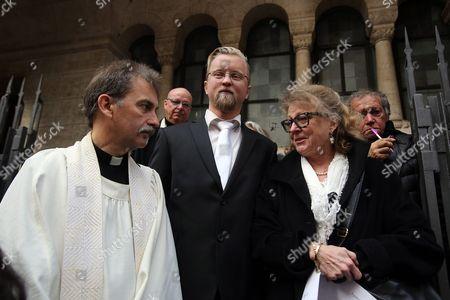 The Swedish vicar Per Edler and niece Christina Ekberg